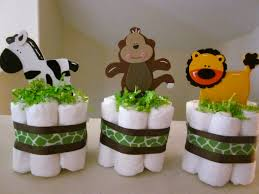 wild thing diaper centerpieces my baby shower gifts pinterest