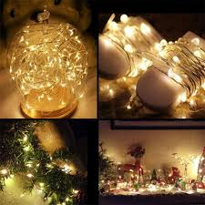 Battery Run Fairy Lights by 100 Battery Run Fairy Lights Glowing Watering Can With Fairy
