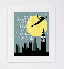 peter pan second star to the right printable