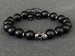 mens skull bracelet images Skull bracelet stainless steel skull bracelet skull bracelet etsy jpg