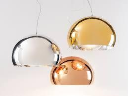 Kartell Fly Ceiling Light Buy The Kartell Fly Suspension Light Metallic At Nest Co Uk