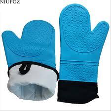 gant de cuisine 1 pc non glissement isolation silicone micro ondes four gant cuisine