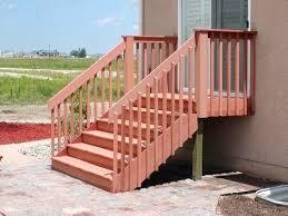 deck stair railing stair railings deck stair railing code