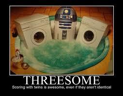 Threesome Memes - speak of the devil a hundred ways to kill jar jar binks