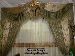 luxury drapery interior design luxury drapes curtain design for bedroom green with gilded crown
