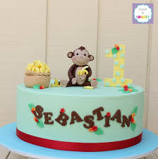 9 best monkey cake images on pinterest monkey cakes 1st