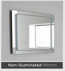 Non Illuminated Bathroom Mirrors Luxury Designer Bathroom Mirrors Designer Bathrooms Designs