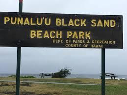 black sand beach hawaii big island black sand beach picture of punaluu black sand beach