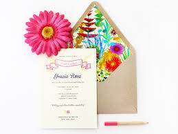 bridesmaids luncheon invitations gracie s colorful bridal luncheon invitations