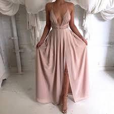blush maxi dress blush maxi dress on pre order bridesmaid dresses occasions