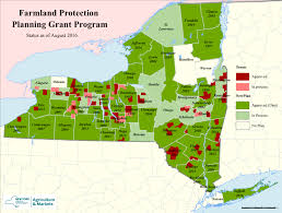 New York Area Code Map by New York State Department Of Agriculture And Markets
