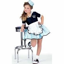 Child Halloween Costumes Car Hop Child Halloween Costume Walmart