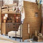 bedroom decoration bunk bed with desk underneath twin over full