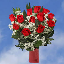 forever roses valentine s day bouquet love you forever 12 red roses arrangement