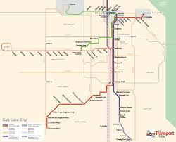 Kansas City Metro Map by Salt Lake The Transport Politic