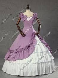 Ball Gown Halloween Costumes Victorian Southern Belle Princess Gown Period Dress Theatre
