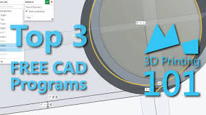 best free best free cad programs for 3d printing 2015