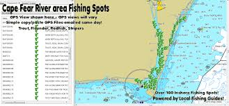 North Carolina Map North Carolina Fishing Maps For Gps