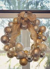 diy ornament wreath how to make an ornament wreath