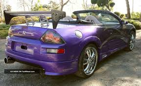 mitsubishi convertible 2003 images of fast and furious mitsubishi sc