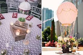 hot air balloon centerpiece hot air balloon wedding decoration ideas unique wedding