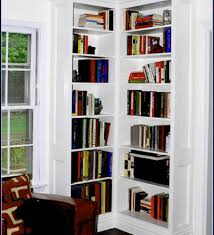 corner bookcase woodworking plan from wood magazine corner