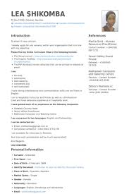 sample resume hospitality hospitality assistant cv template 1