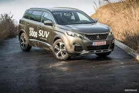 peugeot mpv 2017 we drive the 2017 peugeot 5008 gt suv and find it refreshing