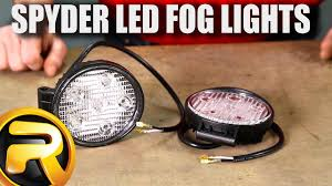 dodge dakota fog light install how to install spyder led fog lights youtube