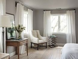 White Curtains With Blue Trim Decorating White Curtains For Gray Walls My Living Space Pinterest Gray