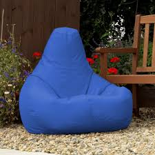 designer recliner gaming bean bag blue indoor u0026 outdoor beanbag