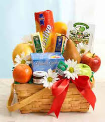 fruit and gourmet basket at from you flowers