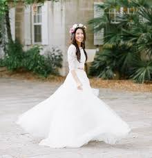 garden wedding dresses bohemian florida garden wedding alex green wedding