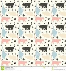 pattern illustration tumblr cats pattern stock illustration illustration of feline 31578936