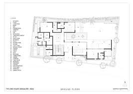 Floor Plan For The White House Gallery Of The Long House Khosla Associates 19