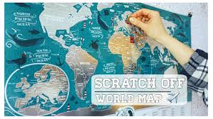 Scratch Off Map Best Scratch Off Map By 1dea Me Review Deliciousreviews Youtube