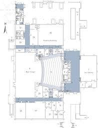 floor plan theater 1st floor california state university stanislaus