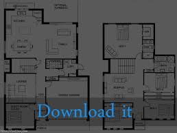 two story floor plans baby nursery floor plan of a 2 story house simple two story
