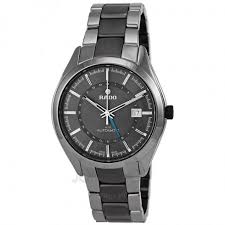 ceramic bracelet watches images Rado hyperchrome xl grey dial grey ceramic bracelet and case men 39 s jpg