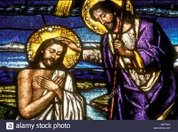 stained glass window stained glass the baptism of our lord jesus