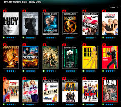vudu offers 50 off women in action movies today only lucy the