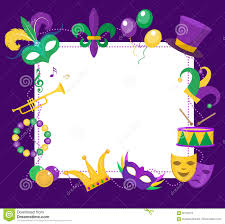 mardi gras picture frame mardi gras frame template with space for text carnival poster