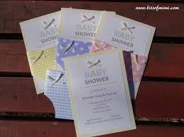 do it yourself baby shower invitations plumegiant com