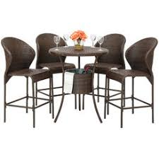 Wicker Bistro Table And Chairs with Outdoor Bistro Sets Sears