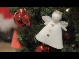 Small Decorated Christmas Trees To Send by How To Make An Angel To Decorate Your Christmas Tree Christmas