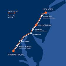 philadelphia international airport map renewed hopes for 220 mph bullet from philly to baltimore