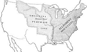 Map Of The Mississippi River The Us Expands West Voa Learning English