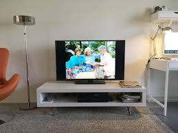 diy hack quick diy hack to give a mid century touch to a tv stand mid