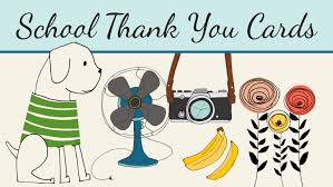 thank you card for school thank you cards for custodians librarians and other staff