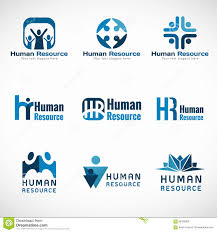 gulf logo vector human resources hr logo vector set design for business stock